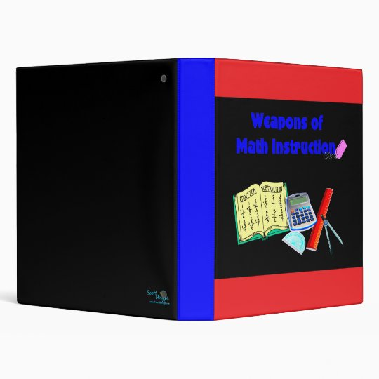 Weapons of Math Instruction Binder