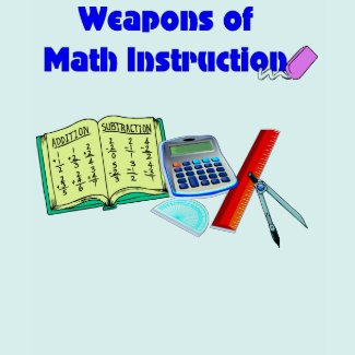 Weapons of Math Instruction T-Shirt - Customized shirt