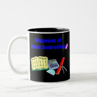 Weapons of Math Instruction Two-Tone Coffee Mug
