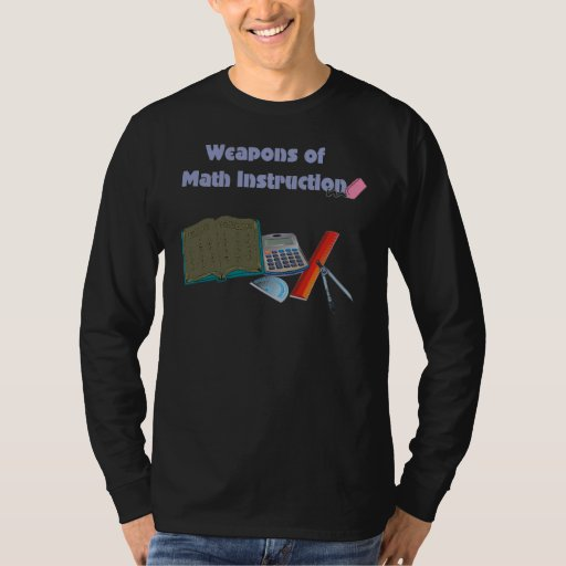 Weapons of Math Instructions T-Shirt