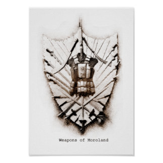 Weapons of Moroland Print