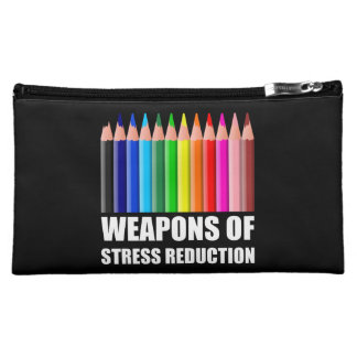 Weapons of Stress Reduction Coloring Cosmetic Bag