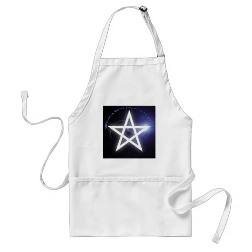 Wear a big Pentacle Day Apron