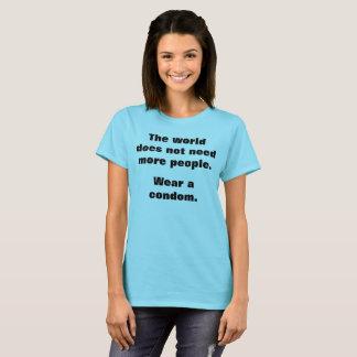 Wear A Condom T-Shirt