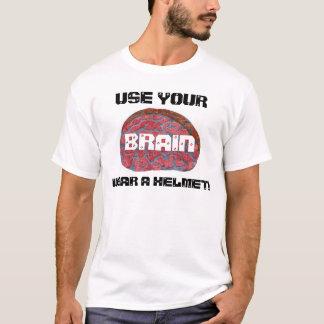 Wear A Helmet T-Shirt