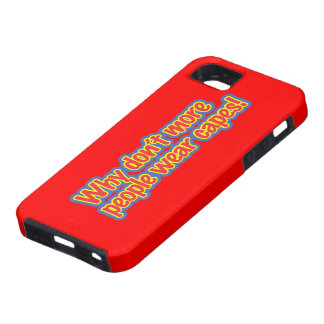 Wear Capes iPhone 5 Case