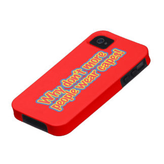 Wear Capes Case-Mate iPhone 4 Cover
