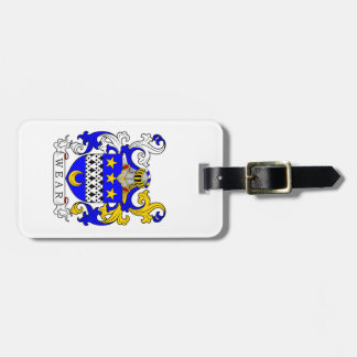 Wear Coat of Arms Travel Bag Tags