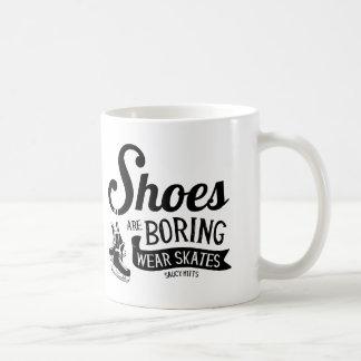 Wear Hockey Skates Shoes Are Boring Coffee Mug