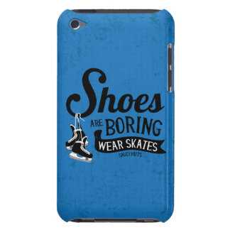 Wear Hockey Skates Shoes Are Boring iPod Case-Mate Case