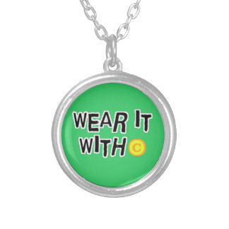 Wear it with C Round Pendant Necklace