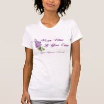 Wear Lilac if you care. T-Shirt