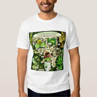 Wear Medicinal Plants Apparel! Tee Shirt