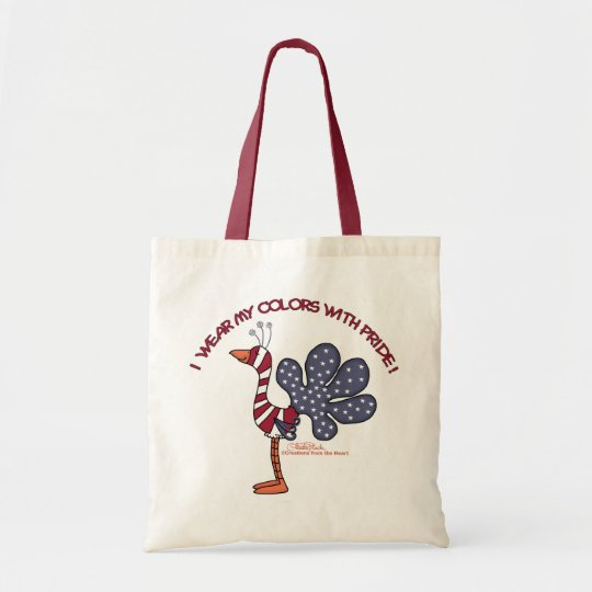 Wear My Colors with Pride Tote Bag