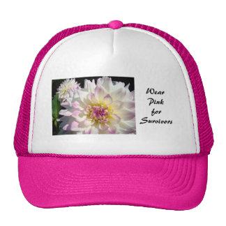 Wear Pink for Survivors Breast Cancer Awareness Trucker Hat
