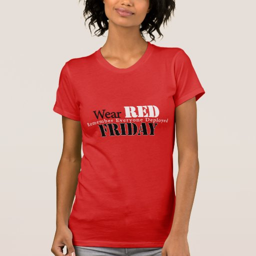 Wear Red on Friday Shirts