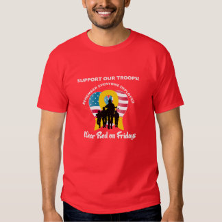 Wear Red on Fridays T-shirt