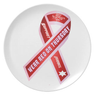 Wear Red On Thursday! Dinner Plate