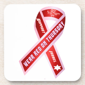 Wear Red On Thursday! Drink Coaster
