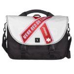 Wear Red On Thursday! Laptop Messenger Bag