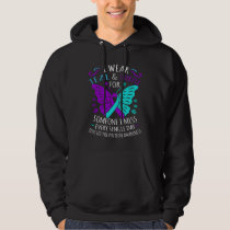 Wear Teal And Purple Happy Suicide Awareness Hoodie