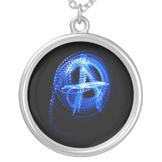 Wear the Anarchy Round Pendant Necklace
