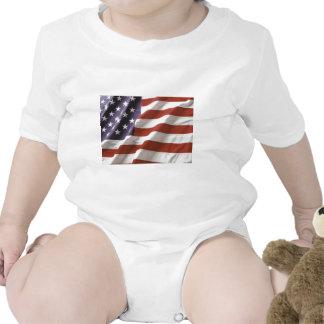 Wear the flag baby bodysuit