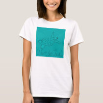 Wear the Teal Ovarian Cancer Awareness T-Shirt