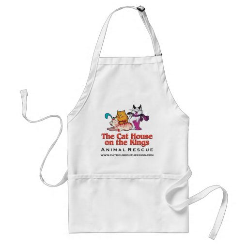 Wear your Cat House apron and show you love cats