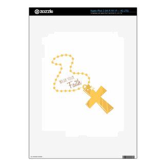 Wear Your Faith iPad 3 Decal