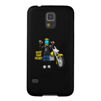 Wear Your Helmet Galaxy S5 Cover