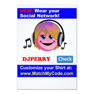 Wear your Social Network! Card