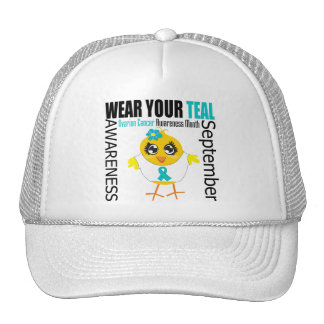 Wear Your Teal Ovarian Cancer Awareness Month Trucker Hat