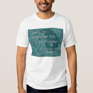 Wearable IOU Shirt