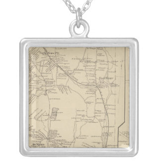 Weare, Hillsborough Co Silver Plated Necklace