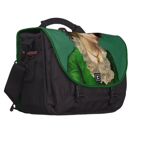 Wearing the Green on St Patrick's Day Bags For Laptop