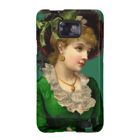 Wearing the Green on St Patrick's Day Samsung Galaxy S2 Case