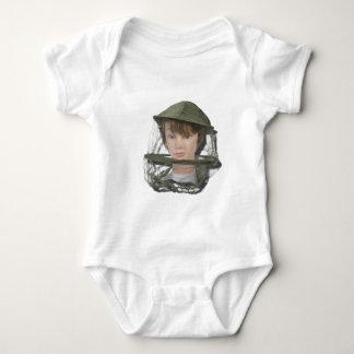 WearingBeeKeeperHat100712 copy.png Baby Bodysuit