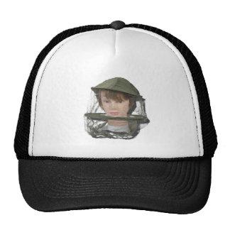 WearingBeeKeeperHat100712 copy.png Trucker Hat