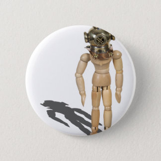 WearingDivingHelmet081212.png Pinback Button