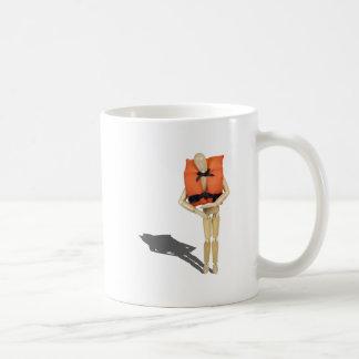 WearingLifeVest081212.png Coffee Mug