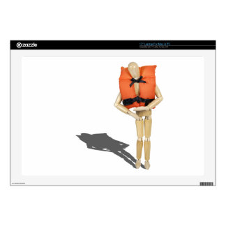 WearingLifeVest081212.png Skin For Laptop