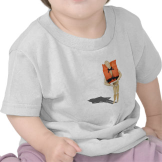 WearingLifeVest081212.png T Shirt