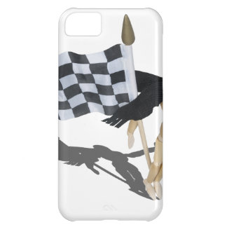 WearingScarfCheckeredFlag090912.png iPhone 5C Cover