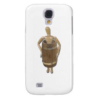WearingWoodenBarrel052711 Samsung Galaxy S4 Cover