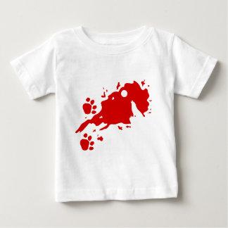 Wearwolf Horror design Baby T-Shirt