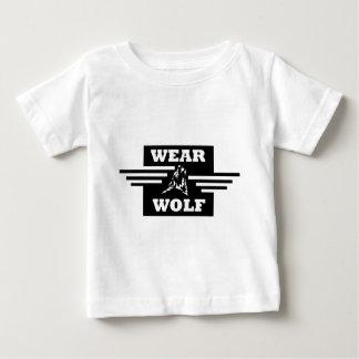 Wearwolf Stripes logo Baby T-Shirt