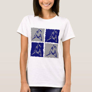 Wearwolf Tribal wolf by 4 logo T-Shirt