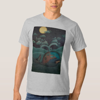 Weary whale T-shirt