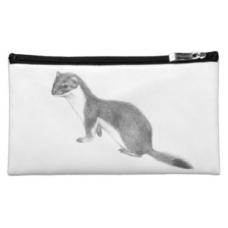 Weasel makeup bag